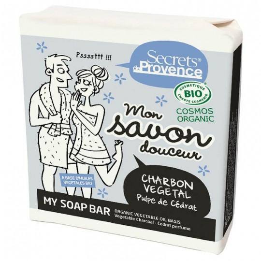 Mon savon douceur Charbon Végétal Secrets de Provence