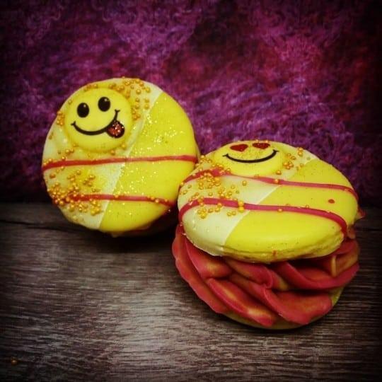 Savon macaron gourmand Les trésors d'Yggdrasil
