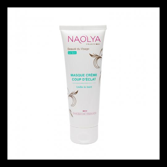 Masque crème Coup d'éclat Naolya