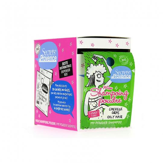 Mon shampoing poudre Bio Secrets de Provence