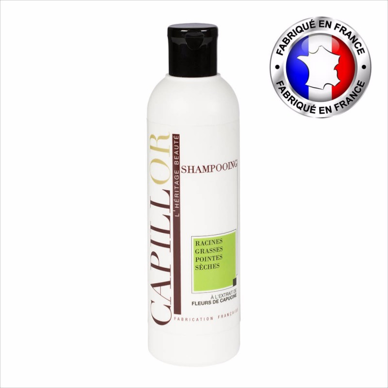 Shampoing racines grasses pointes sèches Capillor