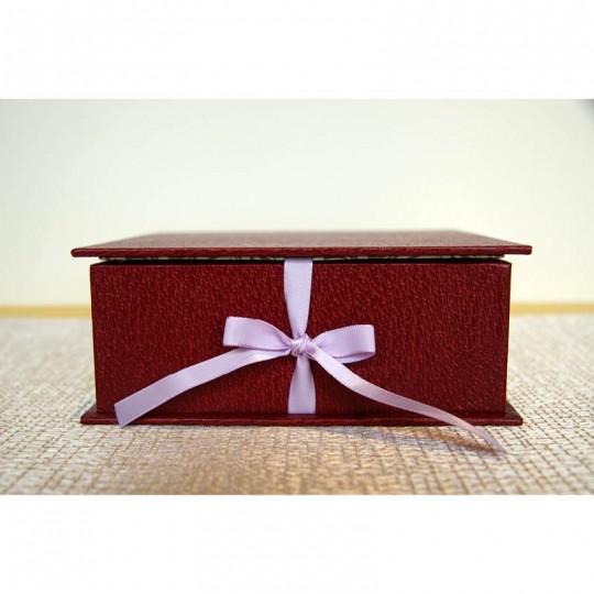 Queen Red, Coffret artisanale haut de gamme pour perles de bain