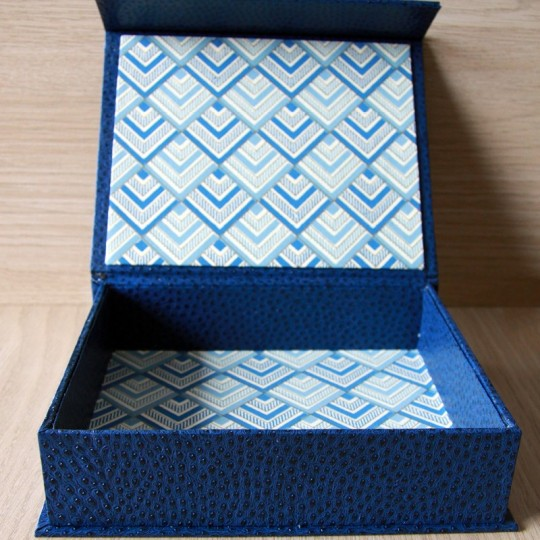 Élite,Coffret cadeau artisanal bleu