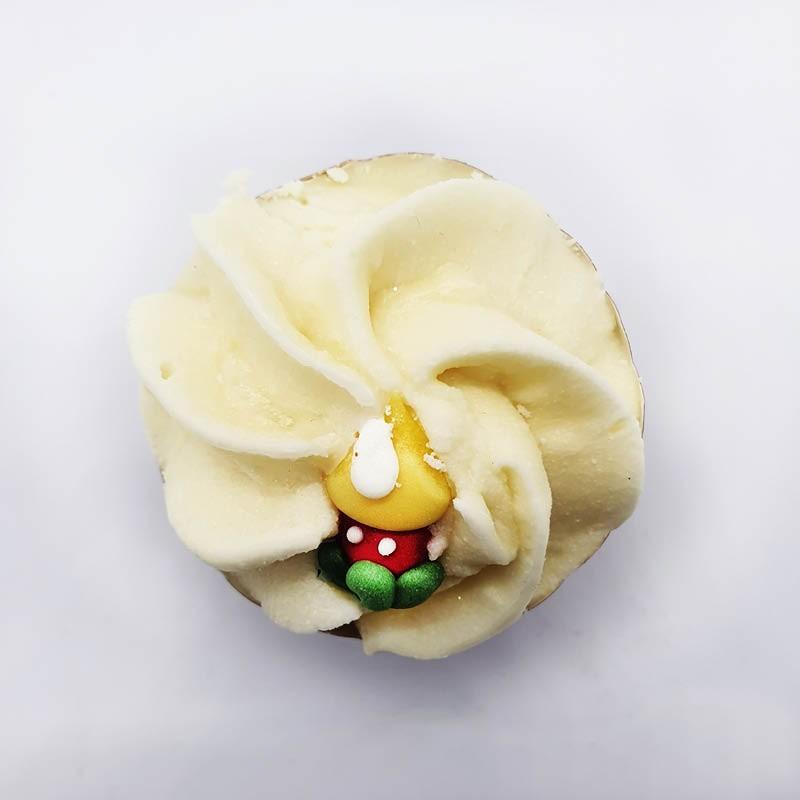 Cupcake de Noël Savonnerie de Bormes